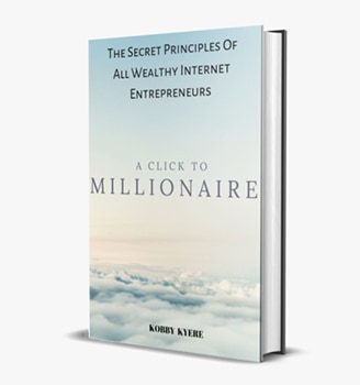 A Click to Millionaire Book by Wealth Tap