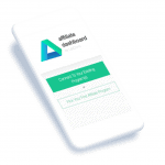 Affiliate Dashboard app for mobile