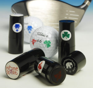 Golf Ball Stamps - Ireland Golf Balls