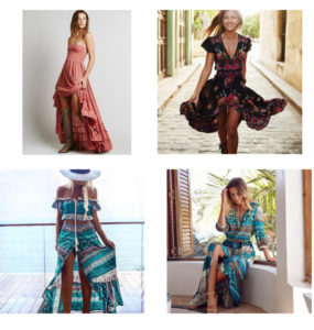 Bohemian Fashion - Summer Dresses