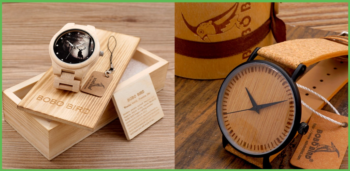 Wood and Bamboo Watches - Affiliate with Nimbos