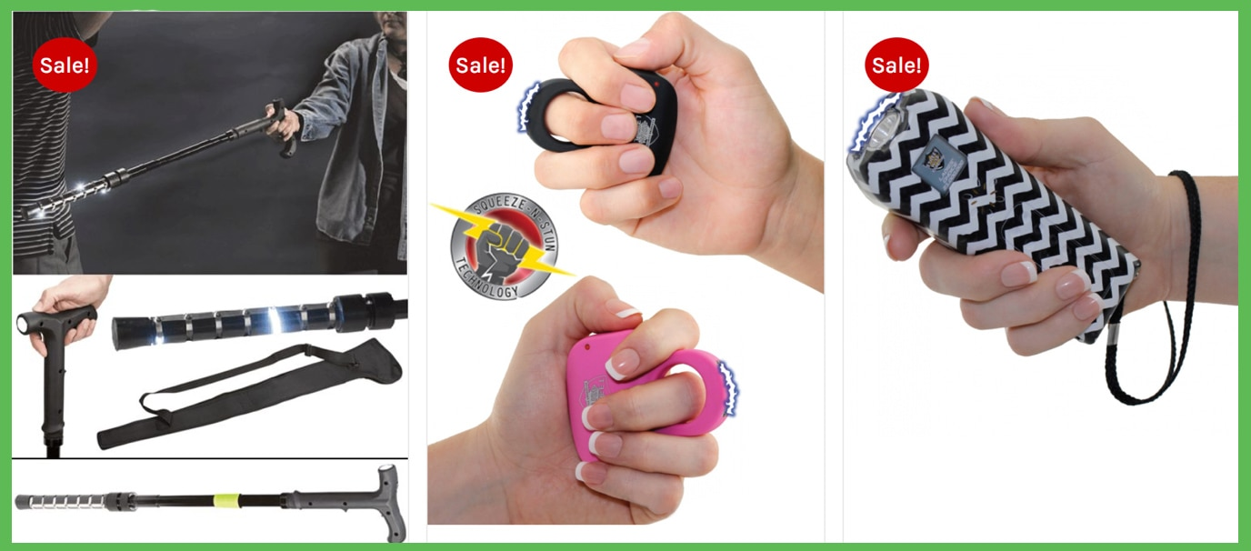 Zen Tactical - Women's Self Defense Combo Pack