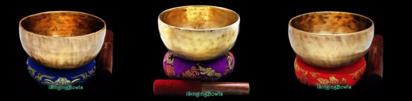 iSingingBowls - Antique Tibetan Singing Bowls