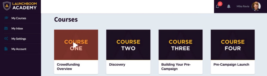 Crowdfunding Courses by Launchboom Academy