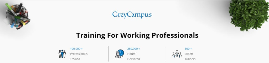 Training for Working Professionals - Grey Campus