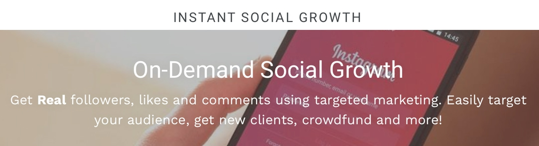 Services to grow your social media following