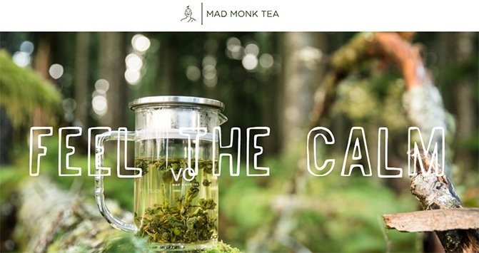 Mad Monk Tea - Herbal Tea
