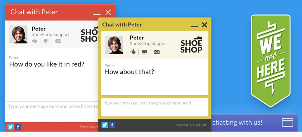 Website LiveChat - Used by top businesses