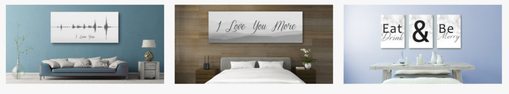 Canvas Vows | Personalized Home Decor