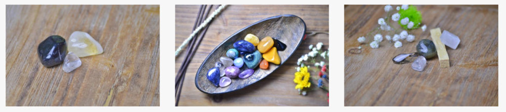 Collection of Healing Stones