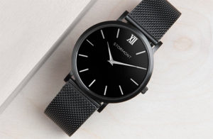 Black Classic Stormont Men's Watch