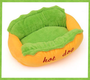 Comfy Hot Dog Bed