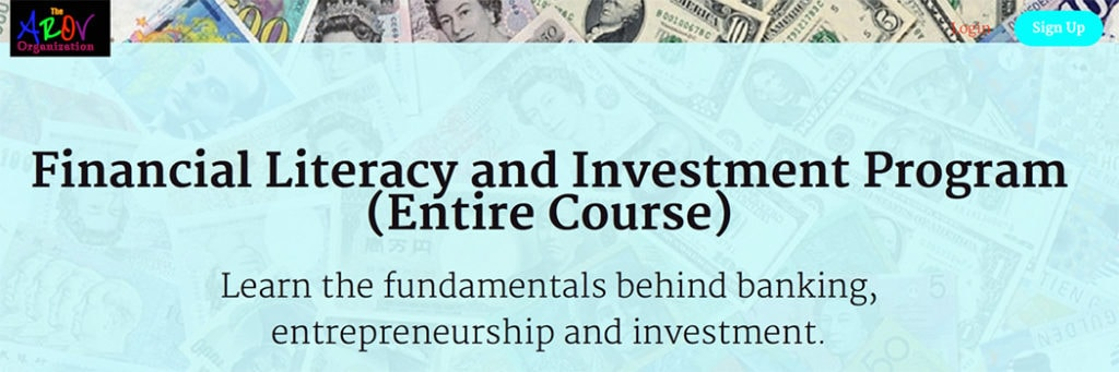 Course: Financial Literacy & Investment Program