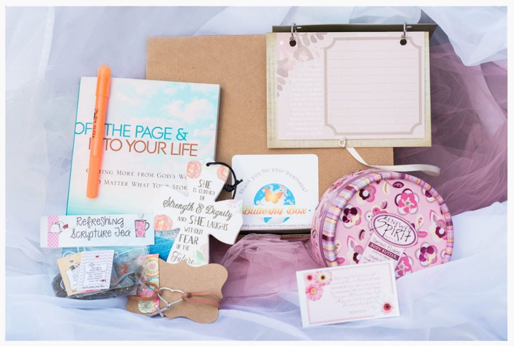 Inspiring Monthly Subscription Box