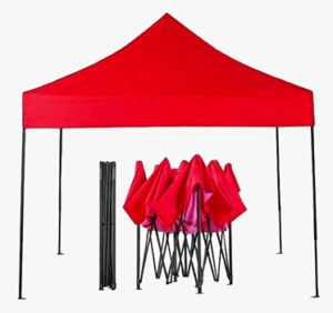 Red Pop-up Gazebo