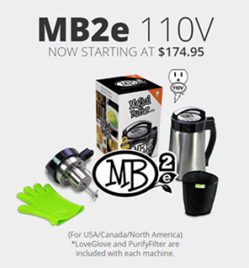MB2e 110v - Includes LoveGlove and PurifyFilter