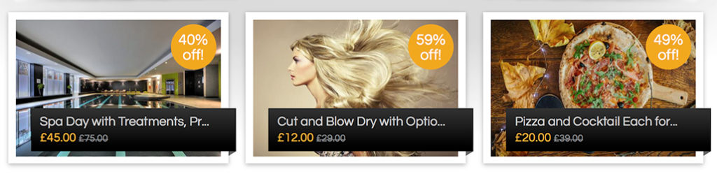 UK Daily Deals - Spa Day | Pizza Meals | Hairdressing