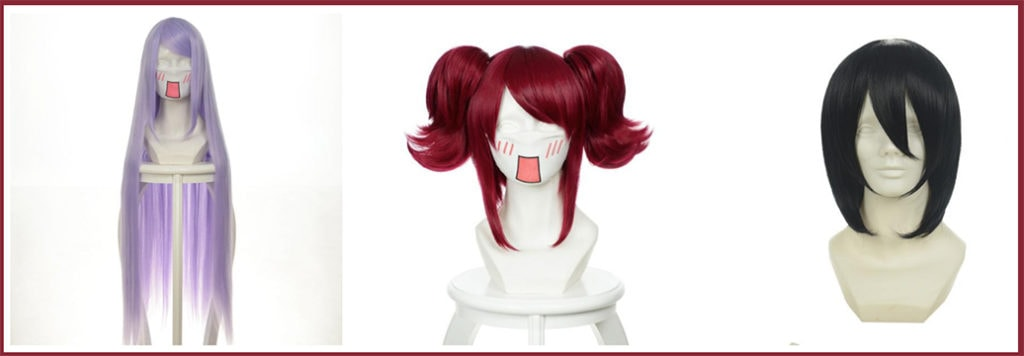 Various Cosplay Wigs