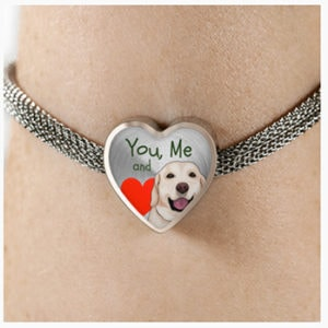 You, Me and... Heart Bracelet