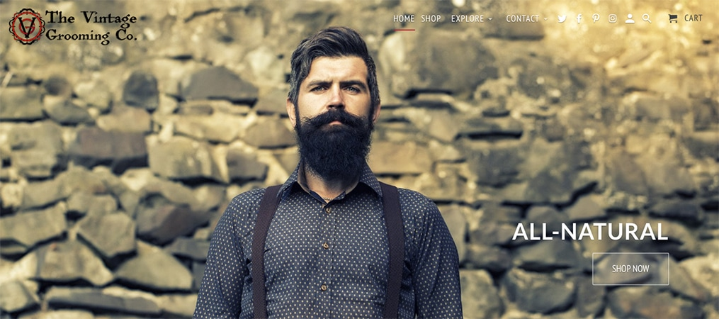 All-Natural Beard Grooming Products