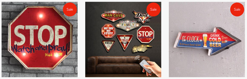Man Cave Products | Wall Signs