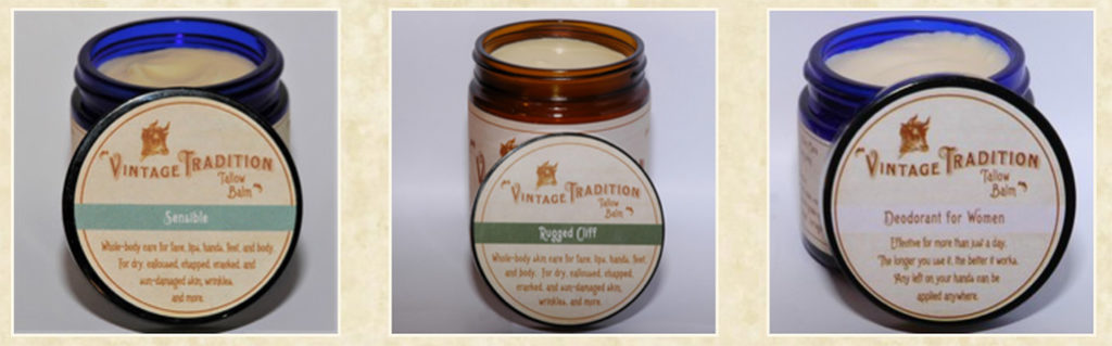 Traditional Nourishing Skincare Products