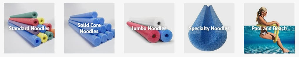 Swimming Pool Foam Noodles