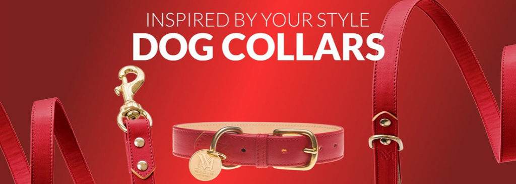 Red Designer Dog Collars | Pet Products