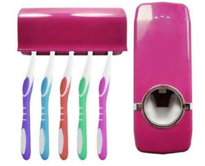 Toothbrush Holder/ Toothpaste Dispenser | Home Products