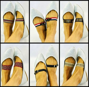 Trendy Womens Shoe Straps