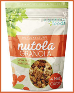 Nutola Granola by Visionary Foods