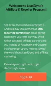 Sign Up to the Best SaaS Affiliate Program