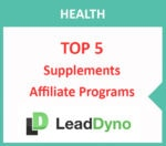 Top 5 Supplements Affiliate Programs | LeadDyno Guide