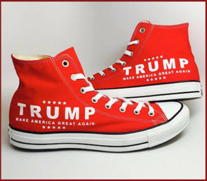 Coalition For Trump Superstore - Red Converse Shoes