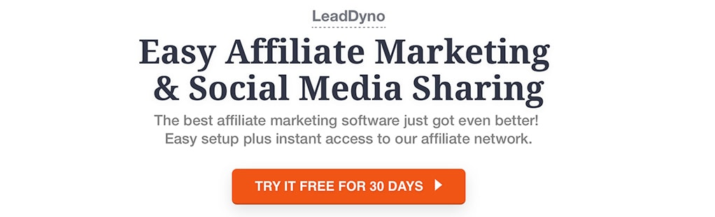 Easy Affiliate Marketing and Social Media Sharing