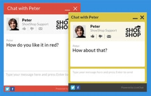 Talk to your Customers with LiveChat