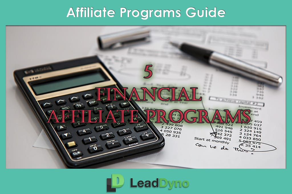 Latest Finance Affiliate Programs by LeadDyno