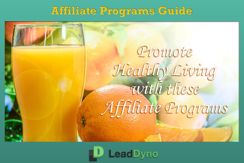Best Health Affiliate Programs | LeadDyno Guide