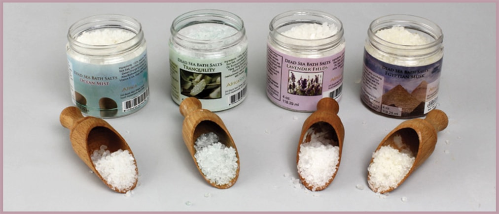 Dead Sea Bath Salts | Dana's Bath and Body