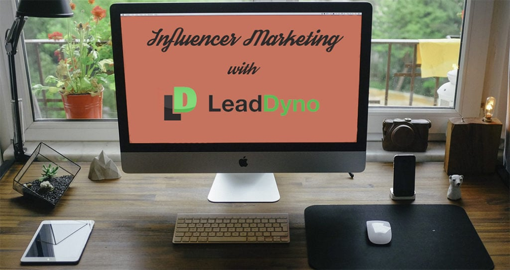 Influencer Marketing Services with LeadDyno