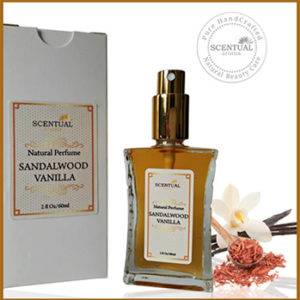 Sandalwood Vanilla Natural Perfume | Affiliate Programs for Beauty Bloggers