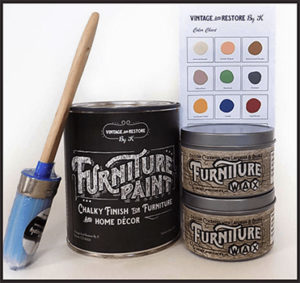 Vintage Furniture Paint and Wax | Arts + Crafts
