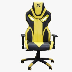 Arc Series Yellow Gaming Chair
