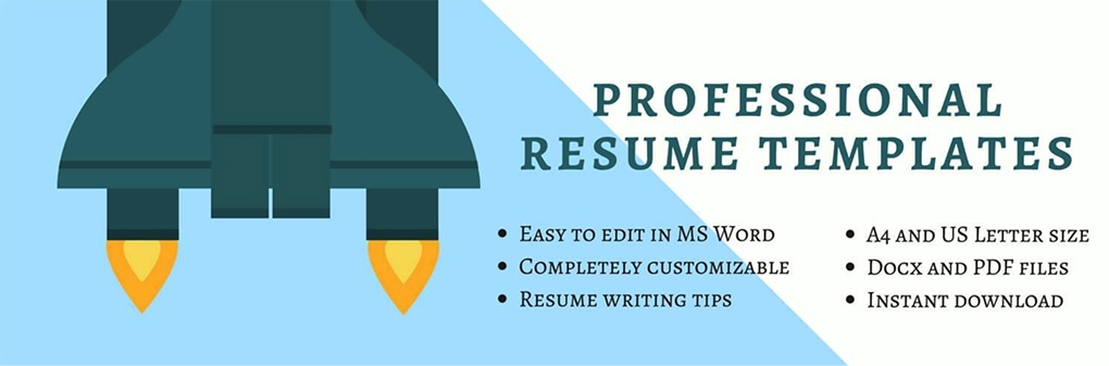 Professional Resume Template Services