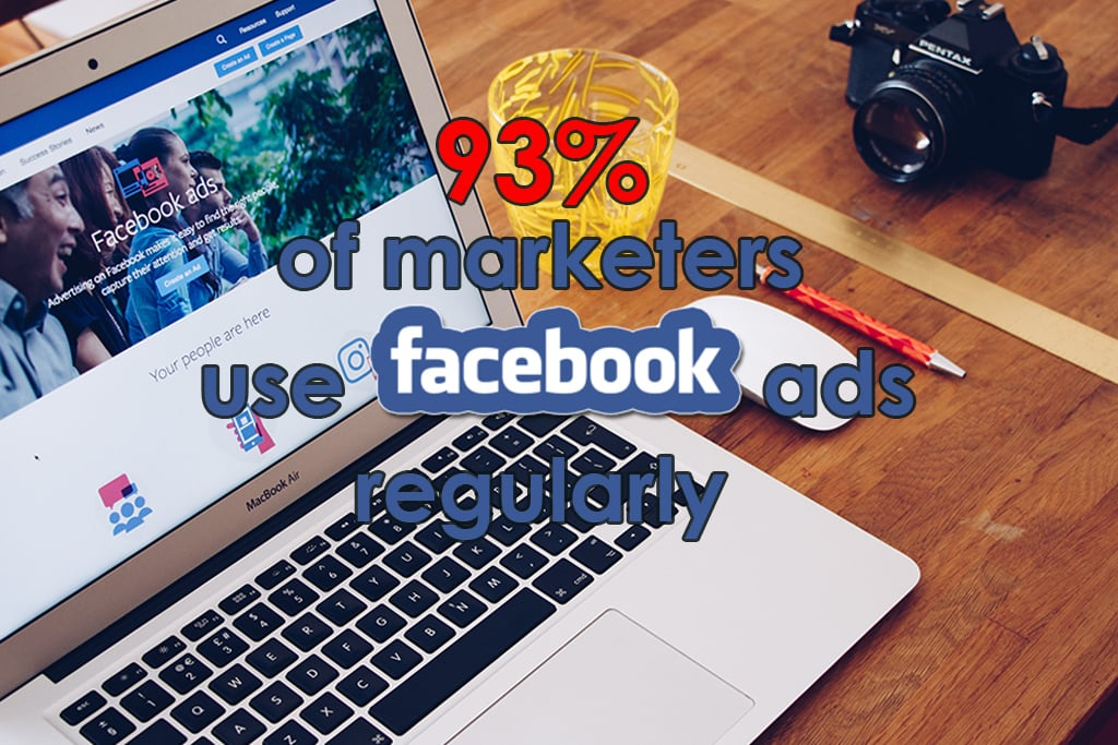 Facebook Ads Statistics Infographic