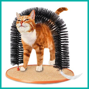 Cat Scratcher/ Groomer by RojoDiversity
