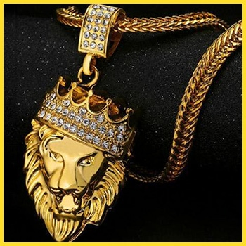 Hip Hop Jewellery - Lion King Pendant
