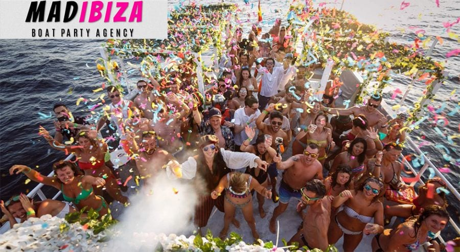 Mad Ibiza | Promote Wild Boat Parties