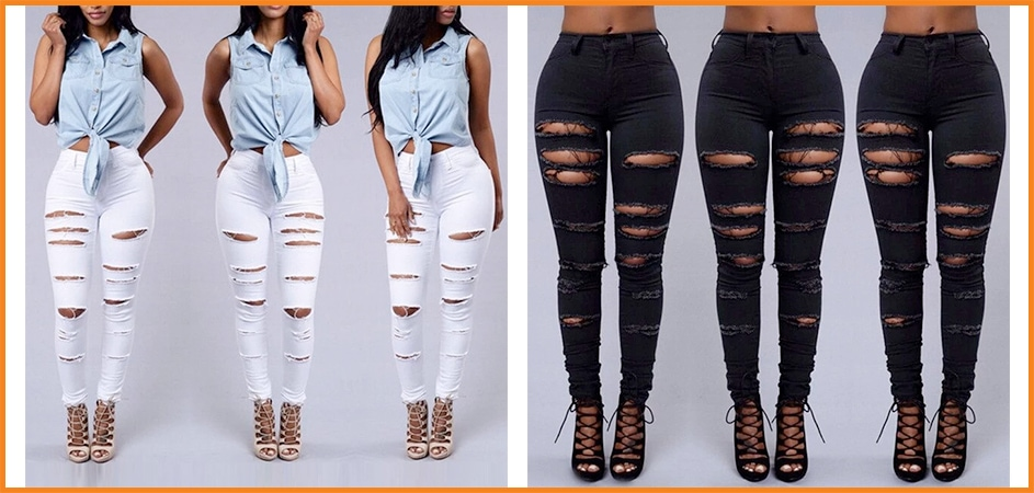 Back in Fashion! Ripped Jeans