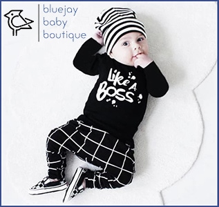 Cute Baby Boys Top, Pants and Hat